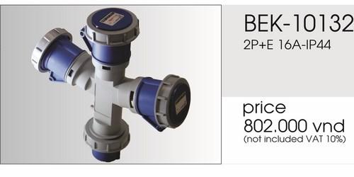 Giá ổ cắm chia ba ngã BEK-10132