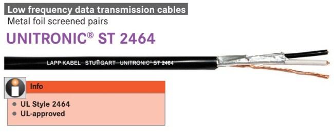 Cáp tín hiệu Unitronic Lapp Kabel