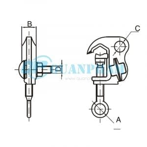 Kẹp dây nóng các loại Hot-line Clamps 2