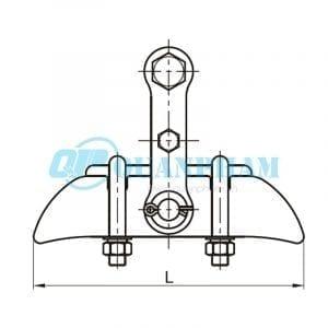 Khóa đỡ dây Suspension Clamps (type XGU – abrasion proof) 1