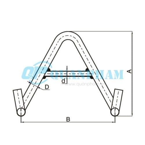 Móc đôi Double Suspension Clamp Bracket
