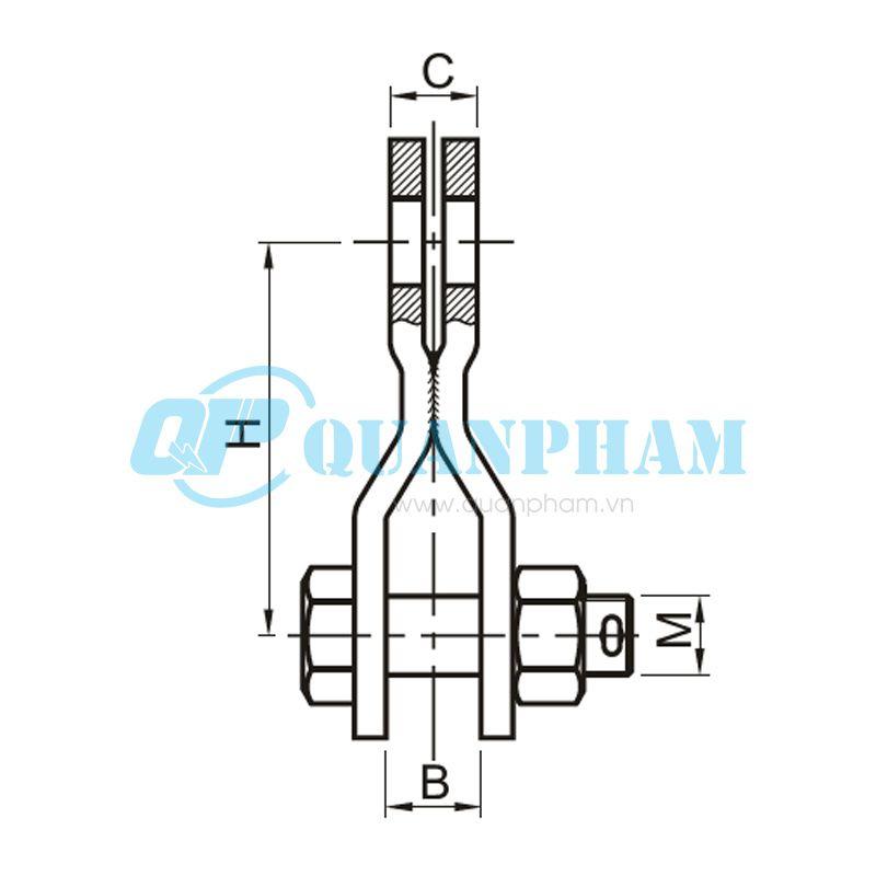 Mắc nối lắp ráp Assembly Links (type NR) 1