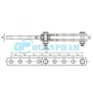 Mắc nối trung gian điều chỉnh Adjuster Plates (type ND) 1