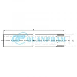 Nối thanh cái (trong) Tubular Bus-bar Joint (inside - type MJ)