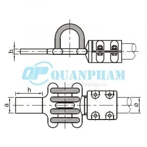 Bản vẽ kỹ thuật nối thanh cái (MGS - 0°) (Ảnh: quanpham)