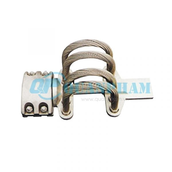 Thanh nối cái Flexible Clamps for Tubular Bus-bar (type MGS - 0°) 3
