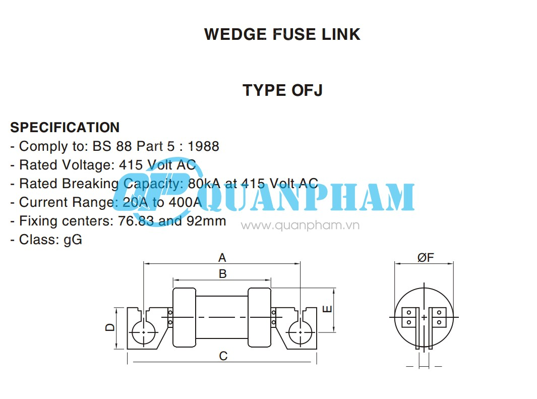 Cầu chì Wedge