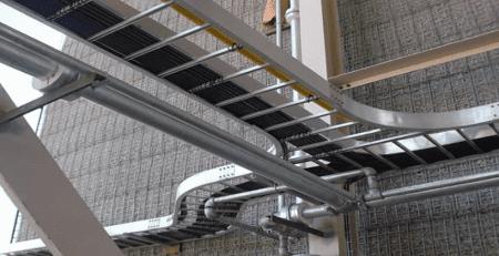Hình minh họa: Hệ thống thang cáp