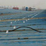 hệ thông khung đỡ tấm pin năng lượng mặt trời lắp trên mái tôn